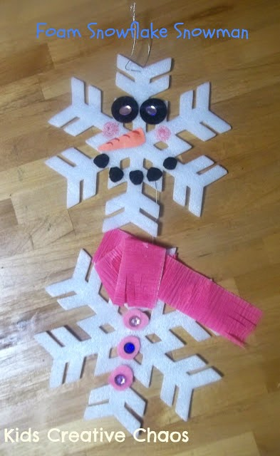 How to make a snowman mobile