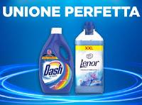 """Promozione Dash e Lenor """"Unione perfetta 50% cashback"""" : ricevi il rimborso del 50%"""