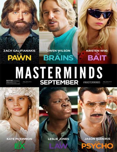 Ver Masterminds (De-mentes criminales) (2016) Online