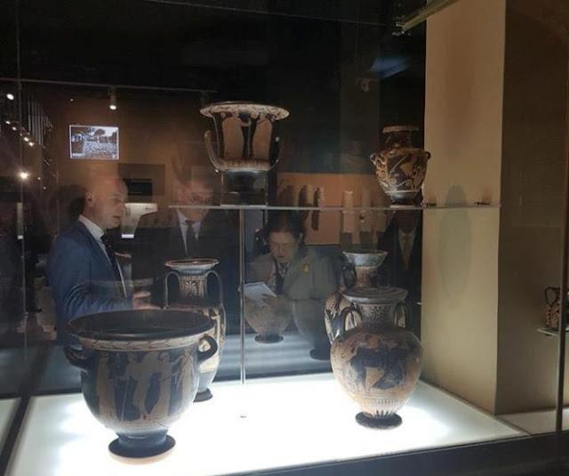 Thailand Princess Maha Chakri Sirindhorn impressed after visited Albanian National Museum