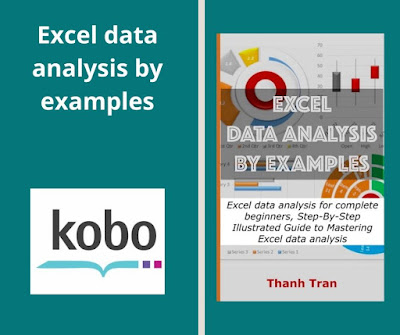 Excel data analysis by examples