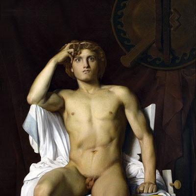 La furia di Achille, di François-Léon Benouville (1821-1859) - Museo Fabre