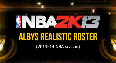 NBA2K13 PC Albys' Realistic Roster 2013-14 Season