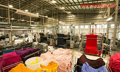 Knit dyeing process parameter