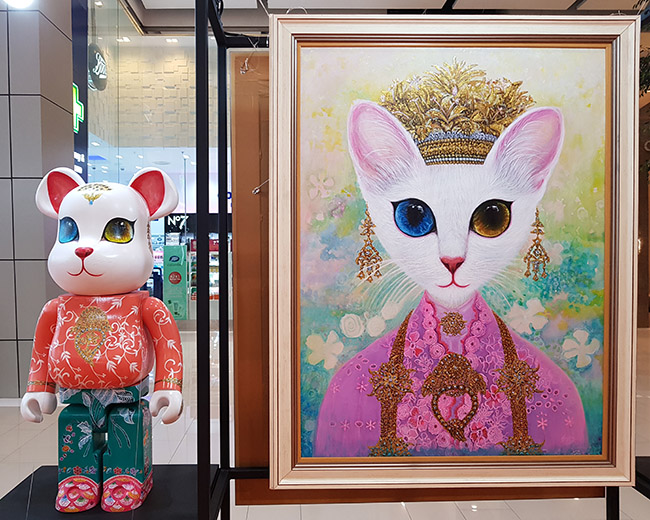 Juffy Joob - Color Me Bear 2018 designer Be@rBrick toy