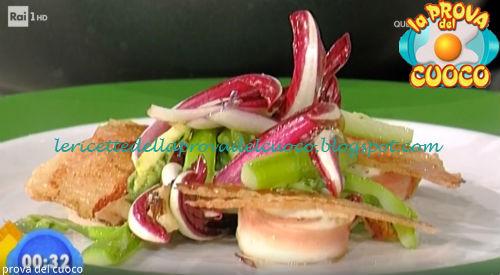 Insalata di asparagi e raviggiolo ricetta Parizzi da Prova del Cuoco