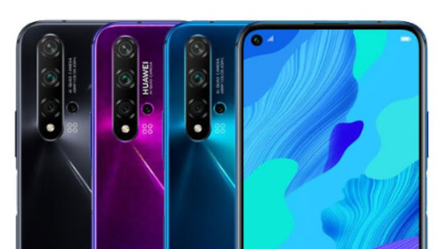 Huawei Nova 5T Kamera Utama dan Depan
