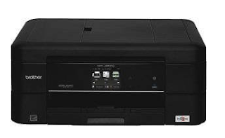 Brother MFC J680DW Wireless Printer Setup