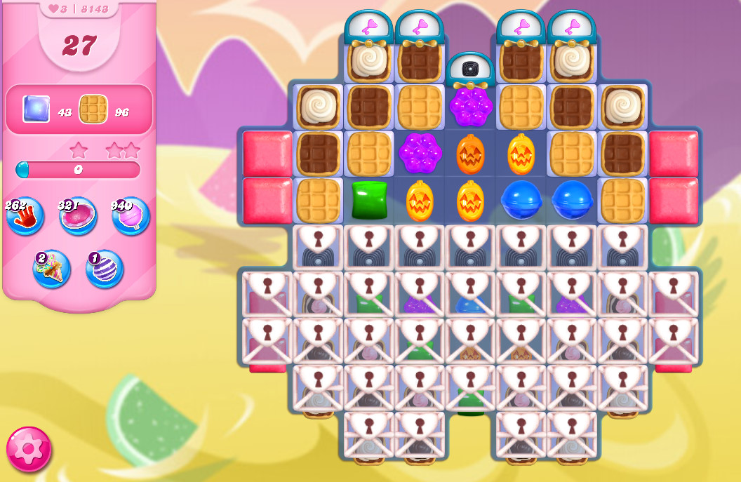 Candy Crush Saga level 8143