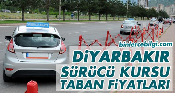 Diyarbakır Sürücü Kursu Fiyatları 2021, Diyarbakır'da Sürücü Kurslarında uygulanan Ehliyet Kursu 2021 Taban fiyat listesi