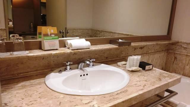 Banheiro do quarto do Hotel Intercontinental São Paulo