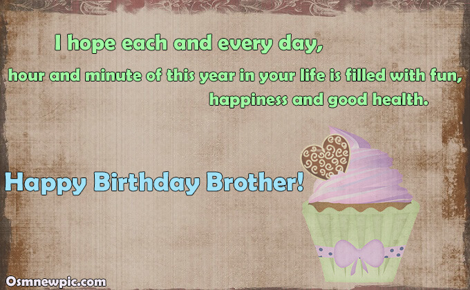 Birthday Wishes for Brother On Facebook