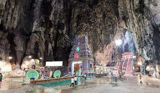 Cuevas Batu o Batu Caves. Kuala Lumpur, Malasia.