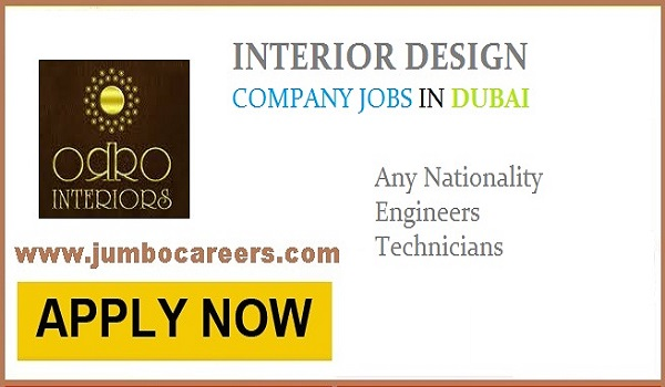Interior Design Company Jobs And Careers In Dubai