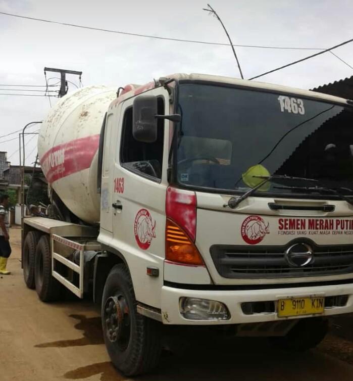 harga readymix beton cor merah putih per kubik (m3)