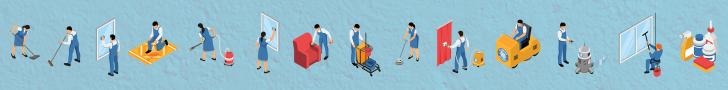 Việc làm giúp việc, tạp vụ, vệ sinh công nghiệp
