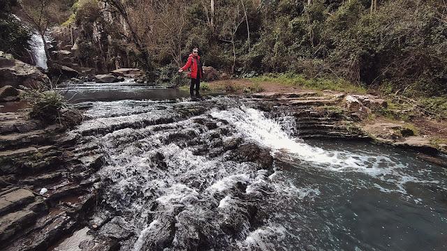 cascata de anços