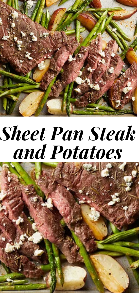 Sheet Pan Steak and Potatoes