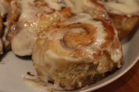 One-Hour Cinnamon Rolls With Cream Cheese Frosting