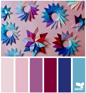 design seeds color palette featuring stars