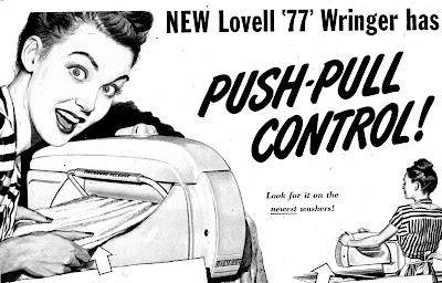 Lovell 77 Wringer Push-Pull Control