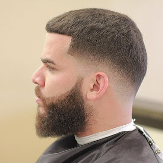 Low Fade Haircut Military