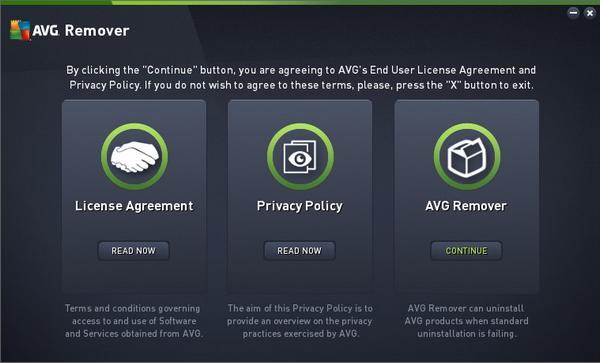 برنامج ازالة برامج الحماية من الفيروسات نهائيا AVG Remover