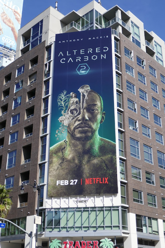 Altered Carbon season 2 billboard