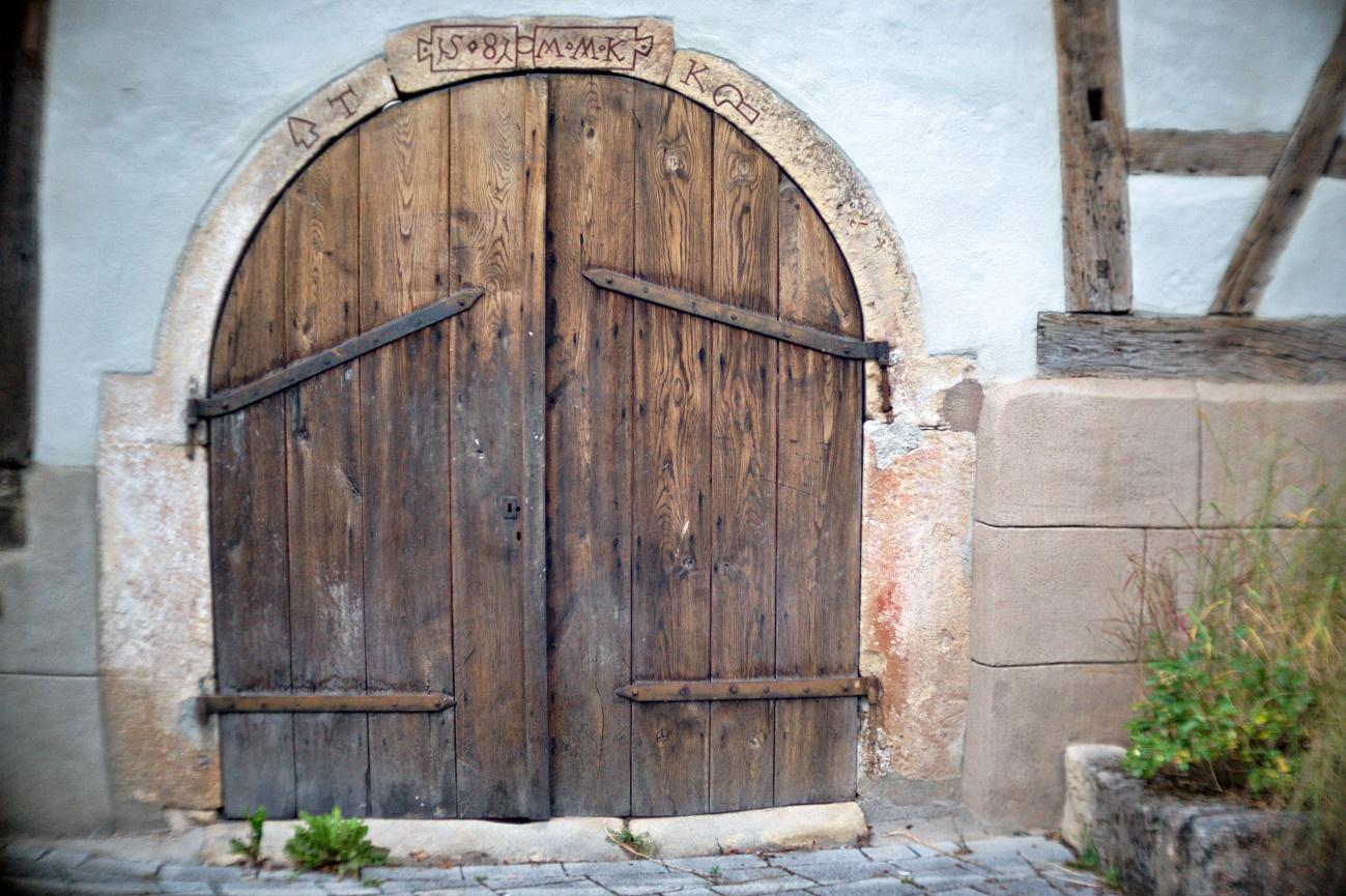 Wieder einmal meine Referenzscheunentüre #2
