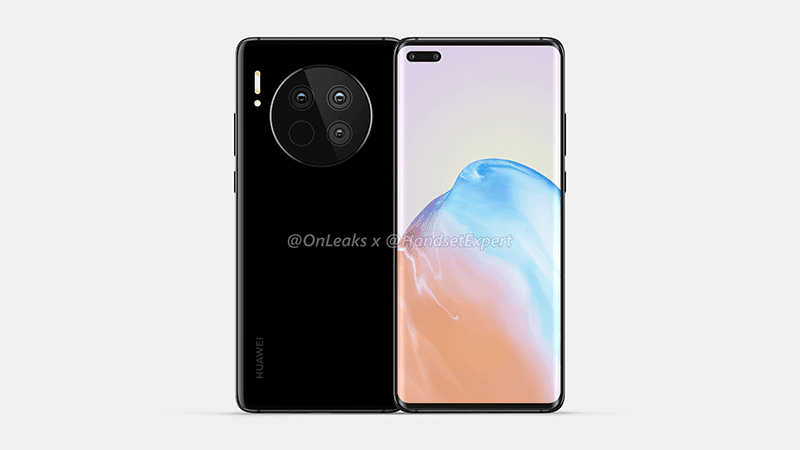 The phone's front and back design