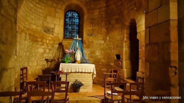 Iglesia románica de Saint Léonce, Saint-Léon-sur-Vézère, Pueblos del Périgord Negro, Francia