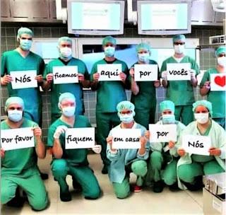 Em  Sapé PB,  médicos não aceitam plantão no hospital Sá Andrade, realizando protesto a favor de colegas demitidos