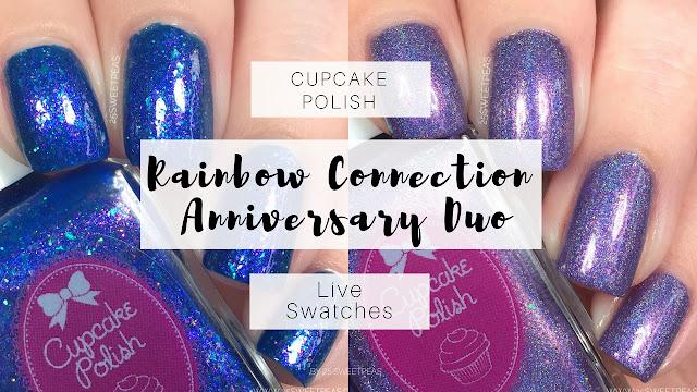 Cupcake Polish Rainbow Connection Duo