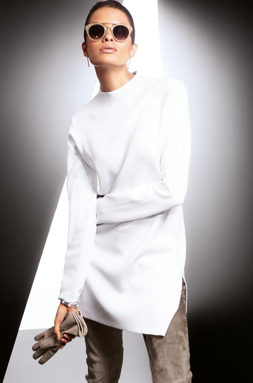 Madeleine White Sweater