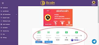 أحصل مجانا على عملة Ecoin ما قيمته $94 دولار بالتسجيل فقط