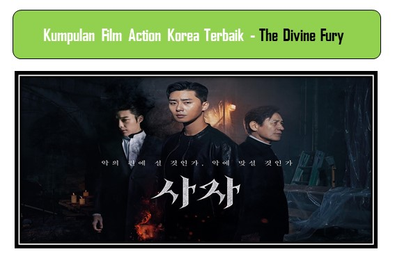 Film Action Korea Terbaik - The Divine Fury