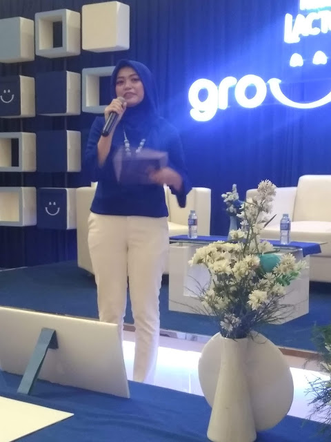 Mbak Dita, Brand Executive Nestle Lactogrow