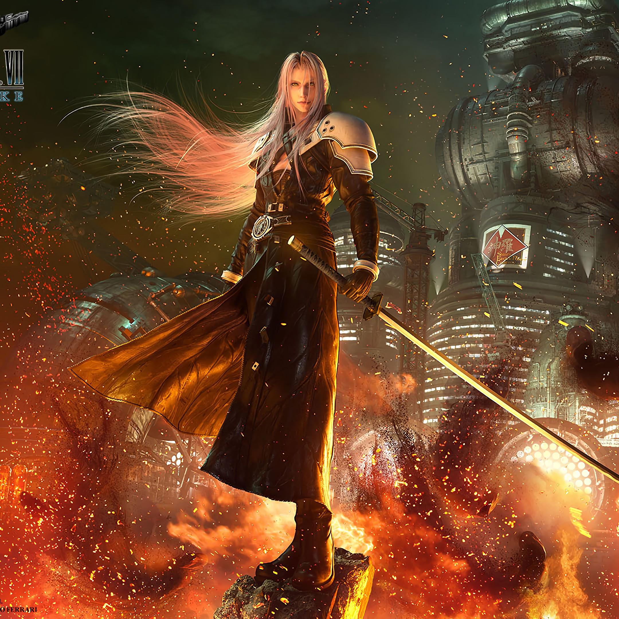 Sephiroth, Final Fantasy 7 Remake, 4K, #30 Wallpaper