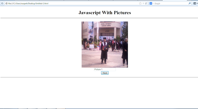 Javascript Picturebox Array