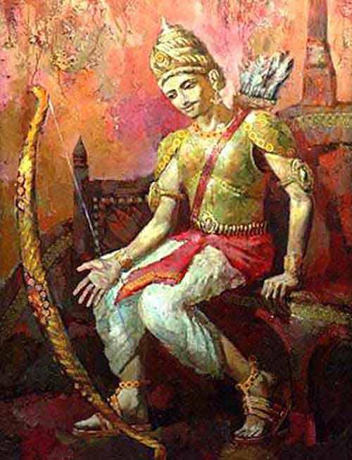 Story Of Gandiva Bow In Mahabharata