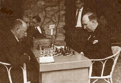 Partida de ajedrez Spielmann-Golmayo, Sitges 1934