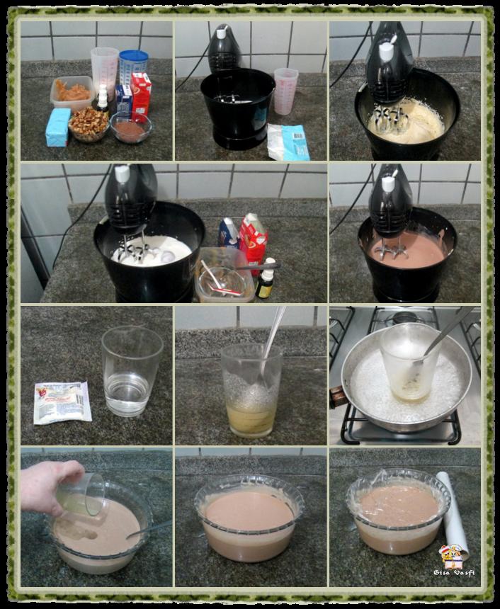 Cupcake de coco com nozes 7