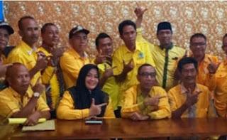 IDP bersama kader Golkar Kabupaten Bima