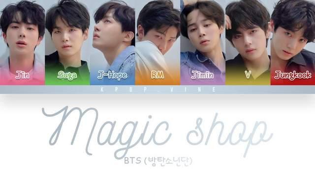BTS - Magic Shop dan Terjemahannya