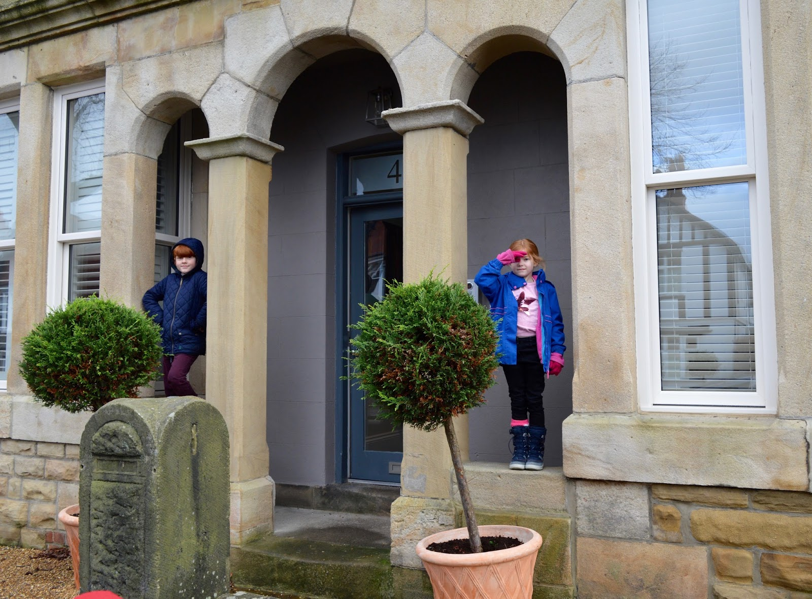 48 Hours in Harrogate with Kids | Harrogate Serviced Apartments Review - St George's Five Entrance