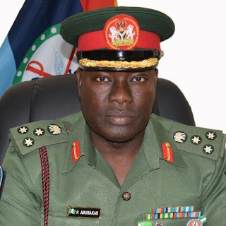 Director of Defence Information, Brigadier General Rabe Abubakar
