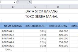 Tips Excel Cara Membuat Satuan Kg, Cm, buah di Belakang Angka Agar Bisa Di Rumus