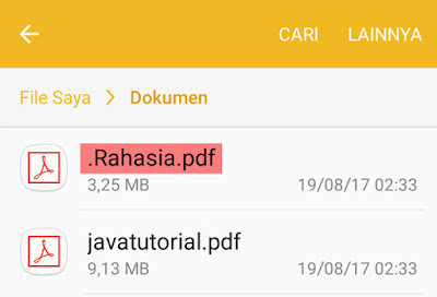 rename file atau folder