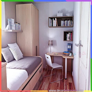 ترتيب غرف نوم ضيقة