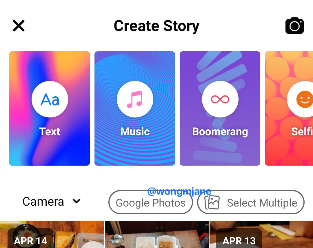 Facebook tests Google Photos integration with Stories
